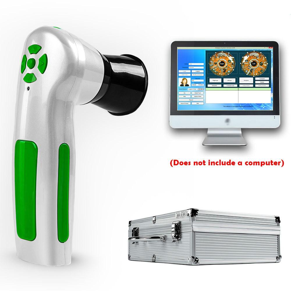 2020 Professionale Digital Iriscope Iridology Fotocamera per fotocamera per il test Eye 12.0MP Iris Analizzatore Scanner DHL per salone di bellezza