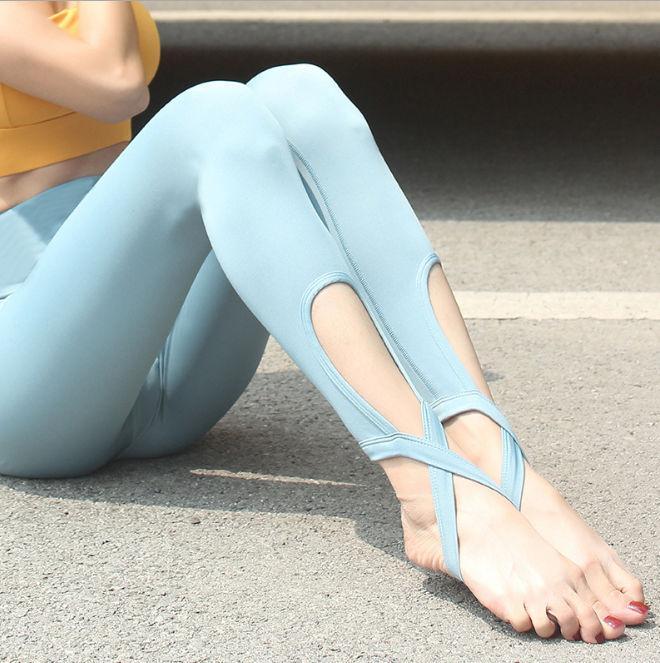 Mode féminine Fitness Pantalons formation luxe Leggings rapide danse Fonctionnement à sec mince femmes Fesse de levage Pantalon de yoga stretch pied
