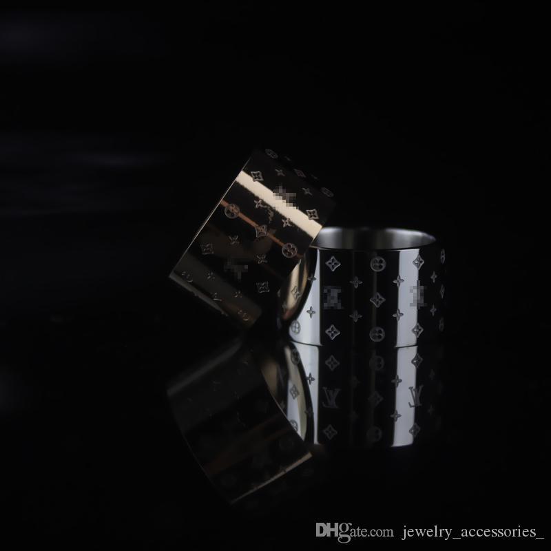 Silber Breite Ringe für Frauen Goldring Handgefertigte Anhänger Valentinstag Geschenke für Frauen Fine Jewelry