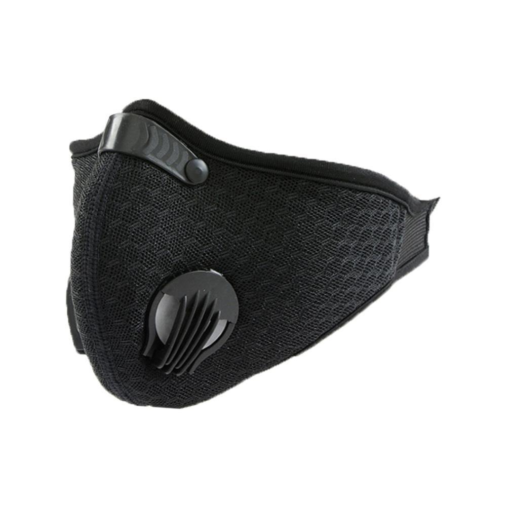 2019 Yeni Toz Geçirmez Maskeleri Ile Aktif Karbon Toz Maskesi Koşu Bisiklet Açık Hava Etkinlikleri Için Ekstra Filtre Pamuk Levha