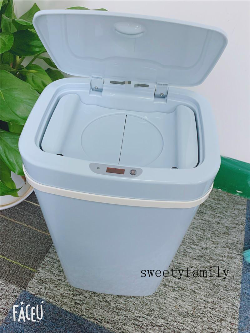 Diaper Pail For Babies New Smart And Convenient Diaper Bin New Battery Powered Style Kitchen Hall Universal Garbage Can