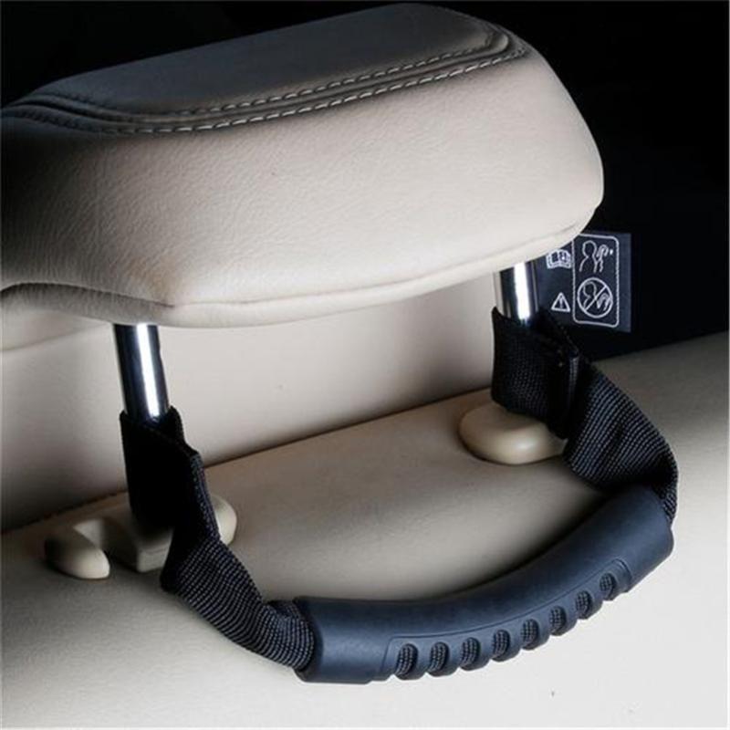 2PCS Auto Grab maniglia posteriore Grip Passenger Seat maniglie antiscivolo sicurezza maniglie della sede del gancio per SUV