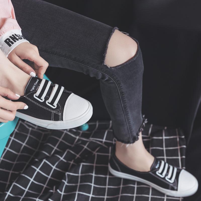 белые туфли Женские летние 2020 новый дышащий повседневная обувь дикий корейский ленивый