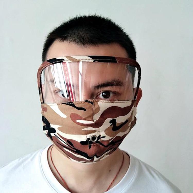 camouflage masque facial avec ouverture concepteur bouche de coton réutilisable lavable masque de luxe de masques masque mode multifonction