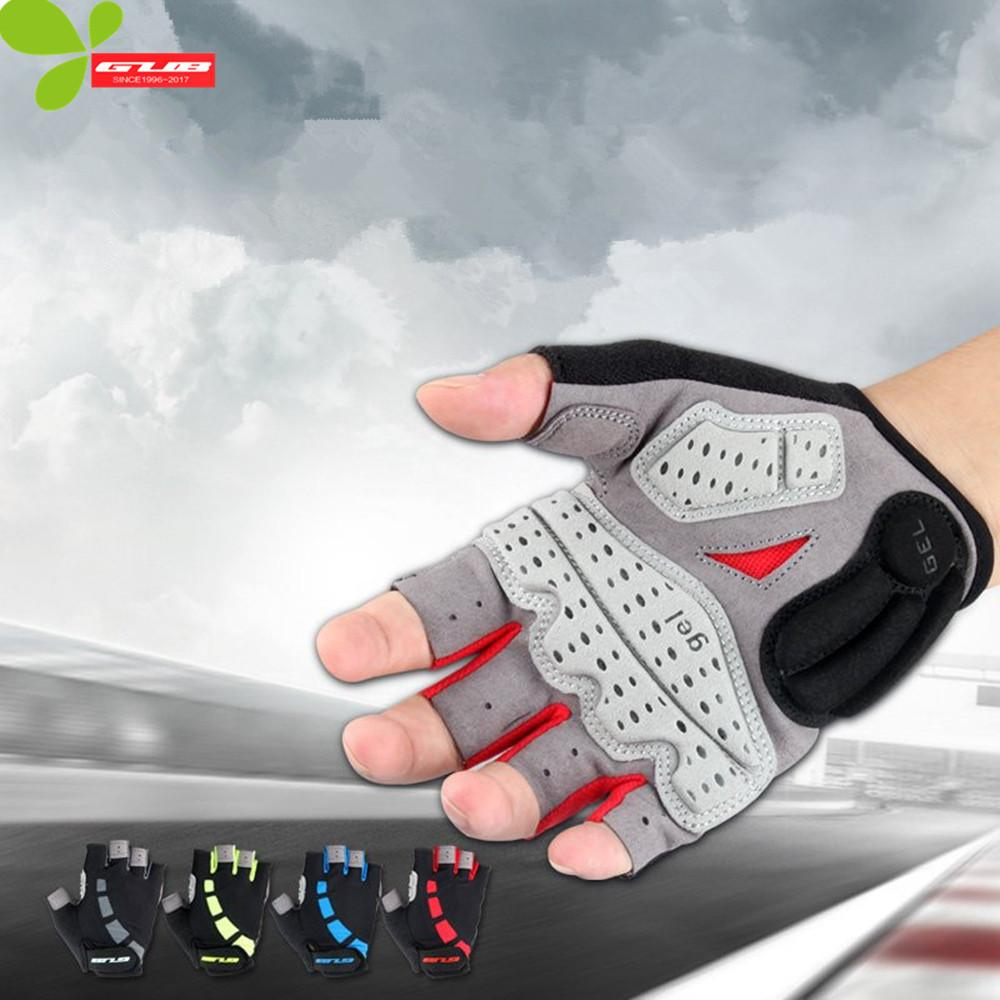 Gub New Cycling Gloves Road Bike Bicycle Gel Shockproof Sports Half Finger Gloves Guantes Ciclismo Luva Motorcycle Bike Gloves
