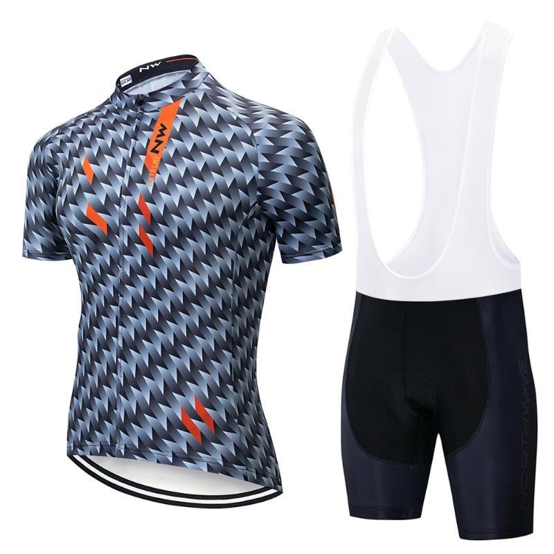 NW Ciclismo Jersey Set traspirante MTB della bicicletta vestiti della bici di montagna indossare abiti Maillot Ropa Ciclismo