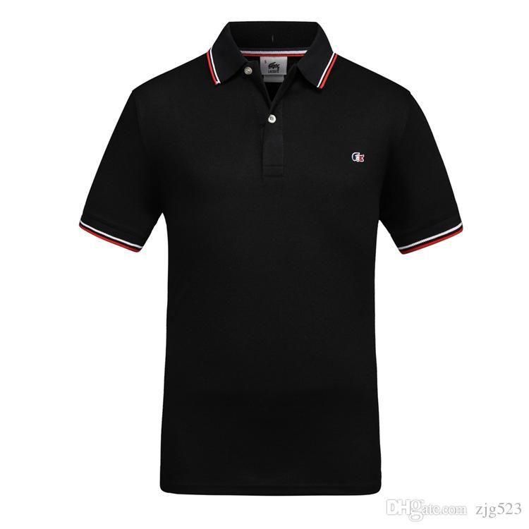 London Men Classic Fred Polo Shirt England perry Cotton Short Sleeve NEW وصل 2019 الصيف التنس القطن بولو أبيض أسود S-XXXL