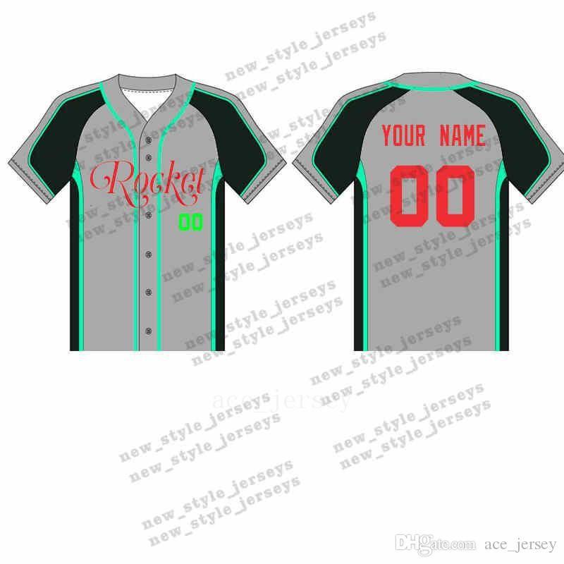 Трикотажные изделия бейсбола 105MAN Custom Breathable 2019 Мужчины молодежные быстросохнущие синие белые сшитые M-XXXL зеленые майки для бейсбола