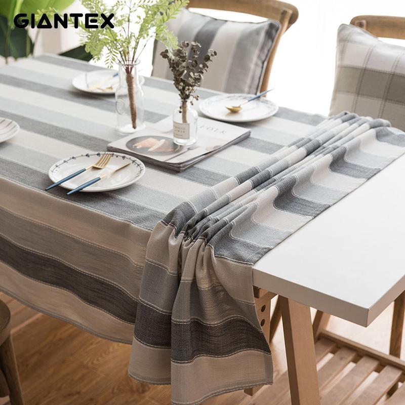 GIANTEX cuisine étanche table tissu nappe rectangulaire nappes Table À Manger Couverture Obrus Tafelkleed manteau mesa nappe