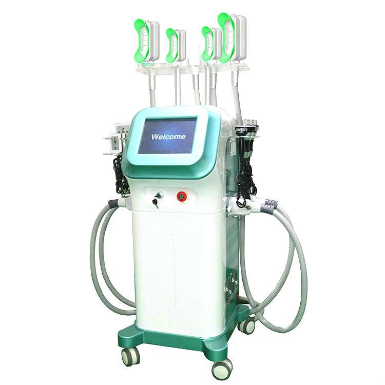 Cryolipolysis 360 Degree vácuo legal Forma máquina Lipo Laser emagrecimento cavitação Rf Queima de Gordura Removal Machine Rosto Slimming Fat Máquina