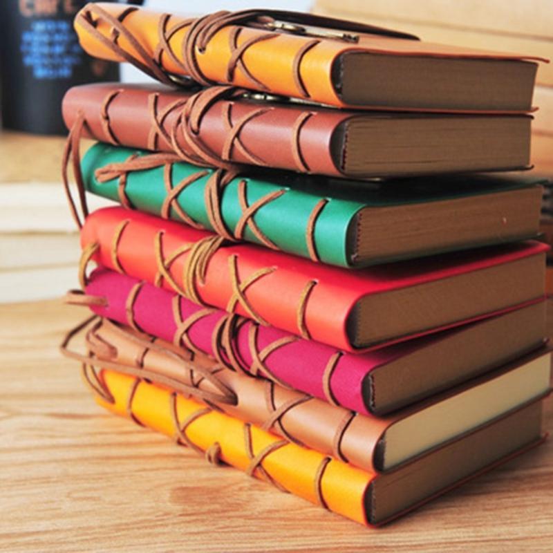 اللوازم مفكرة محمول كرافت تغطية ورقة A5 ورقة خمر المفكرة كتاب فريد القرطاسية كتاب يوميات طالب