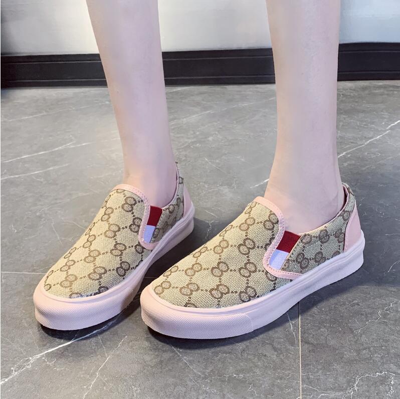 Primavera Autunno Donne Moda rotonda Toe Flats femminile Scivolare sulla pelle Mocassini Fannullone scarpe da tennis casuali scarpe sportive scarpe 35-40