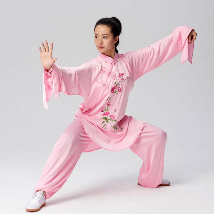 Chinois Tai chi costume costume de boxe Taiji Kungfu tenue wushu vêtement uniforme de performance pour les hommes enfants femmes enfants fille garçon adultes