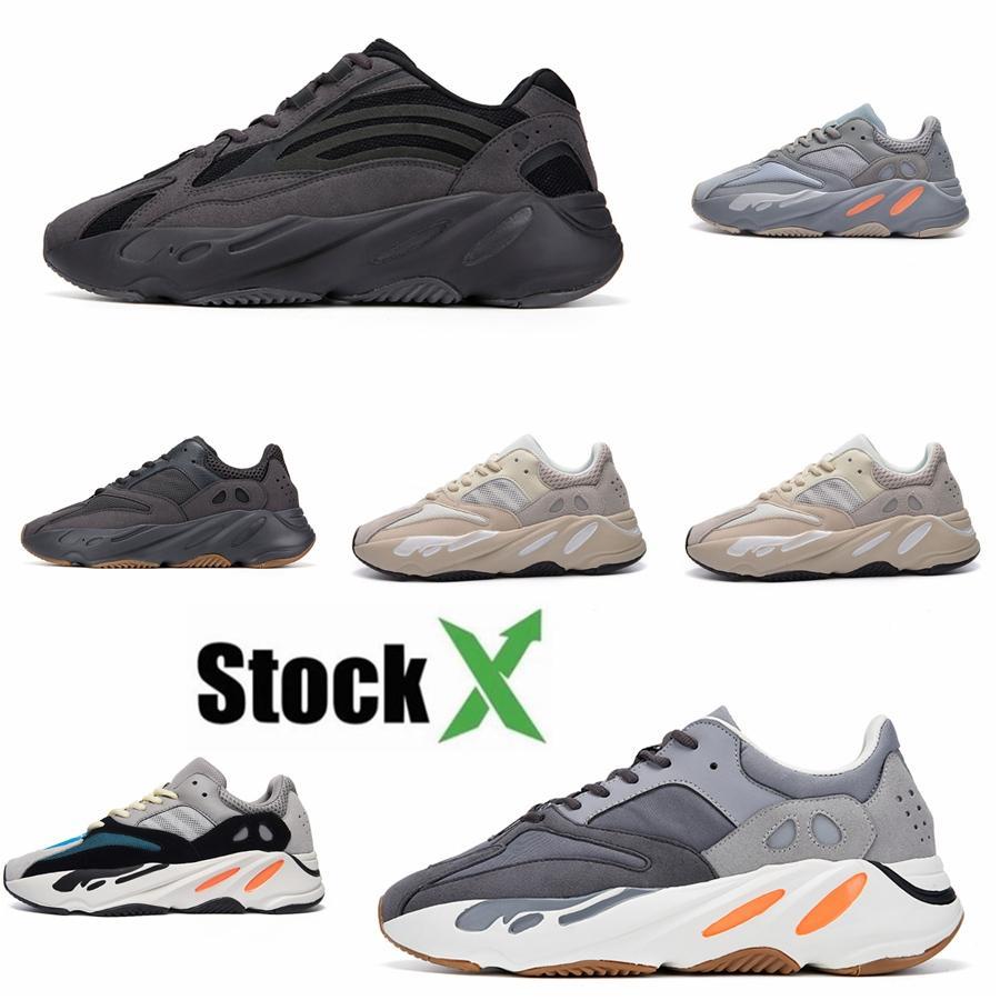 Hotsale Kanye West Asriel Marsh 700 Running Shoes imán Yecheil Bred Desert Sage Tierra Zyon Zebra Negro reflexivo Deportes zapatillas de deporte # QA840