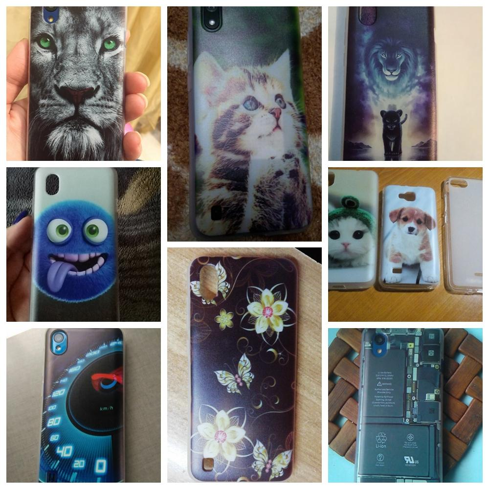 3D Print Cartoon Case For ZTE Blade L8 Soft Silicone Cover Case For ZTE Blade A3 A5 A7 2020 Bumper Protection Case