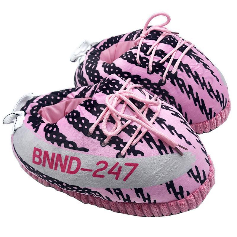 Hiver chaud Chaussons Femmes Pantoufles Chaussures pour femmes Rose Mignon Femme Maison Intérieur Femmes / Hommes Chaussures de sport Big Taille 35-43