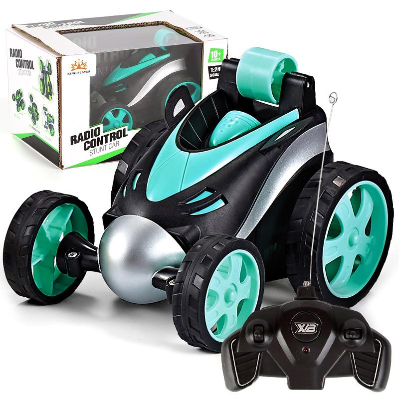 Funny Mini RC Car Toy Remote Control Stunt Car Monster Truck Radio Electric Dancing Drift Model Rotation Wheel Vehicle Toy