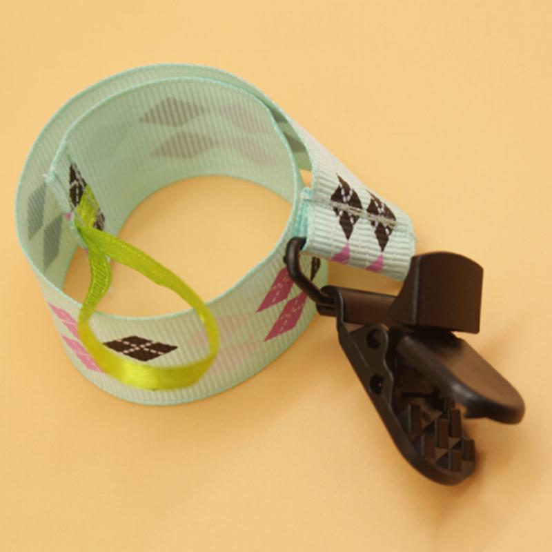 1PC New Baby ciuccio ciuccio catena clip Dummy clip del supporto con i capezzoli per i clip Capezzoli bambini Ciuccio Massaggiagengive Anti-drop Rope