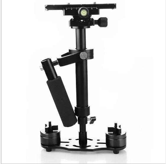 معدات التصوير الفوتوغرافي S40 / S60 سلسلة المحمولة استقرار DV المثبت ل كاميرا SLR
