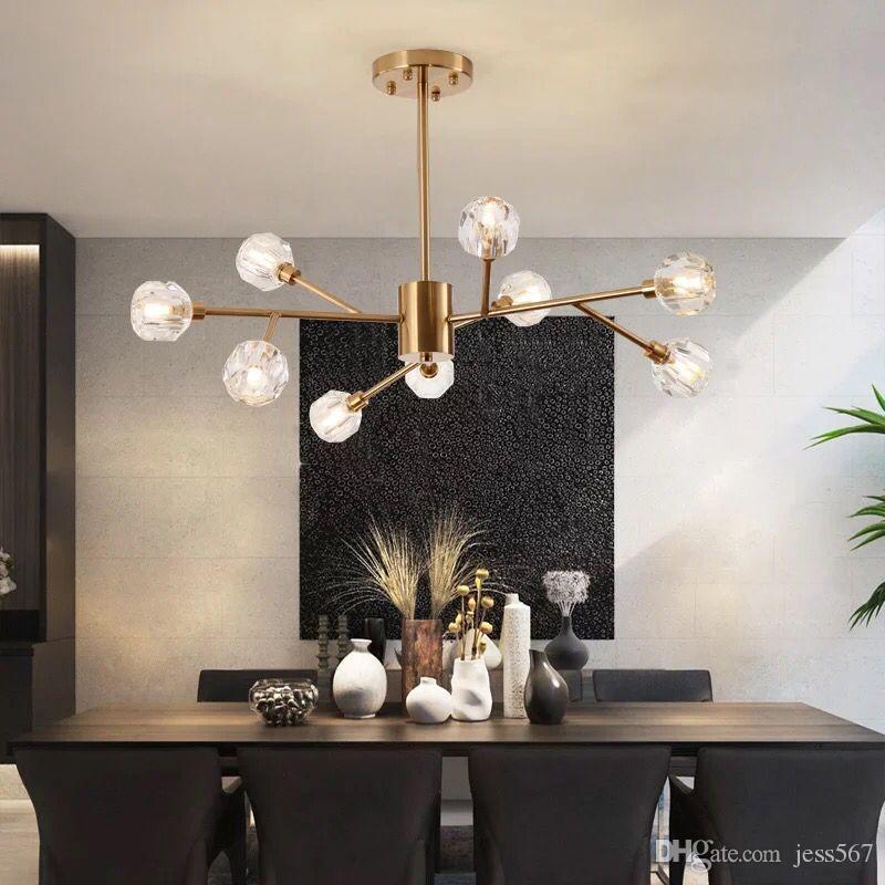 oturma odası parıltı ışık yatak yemek odası ev APP kontrol tavan lamba için avize ışıkları aydınlatma armatürleri aydınlatma