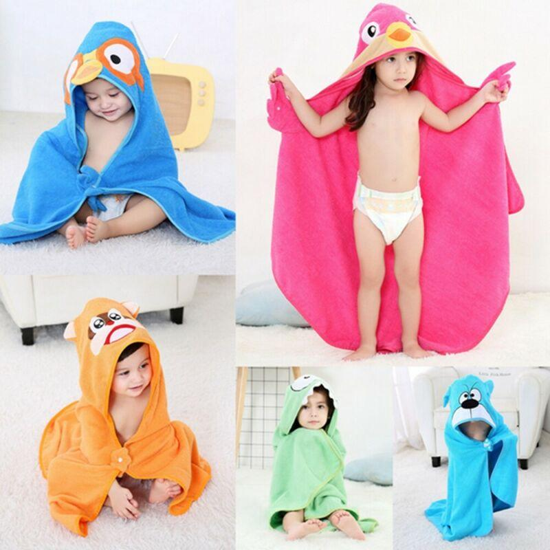 2020 Faroot милые дети мальчик девочка животных мультфильм мягкий хлопок халат детская ванна с капюшоном быстросохнущее полотенце пижамы 90x90 см