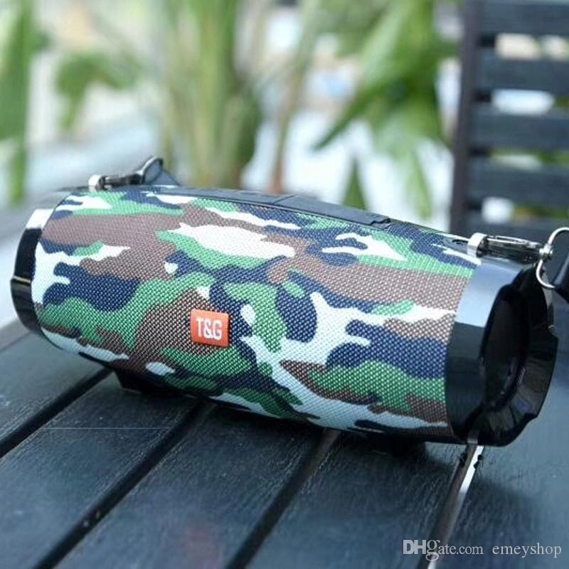 TG504 portátil Wireless Speaker Speaker 20W Bluetooth Rádio FM Suporte TF Outdoor AUX com alça Subwoofer Coluna soundbox
