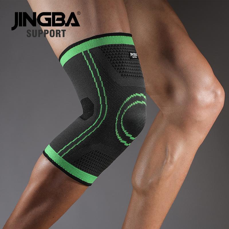 Sport Basketball Knieschützer Abstützungs elastischen Nylonkompressionsknieschutz