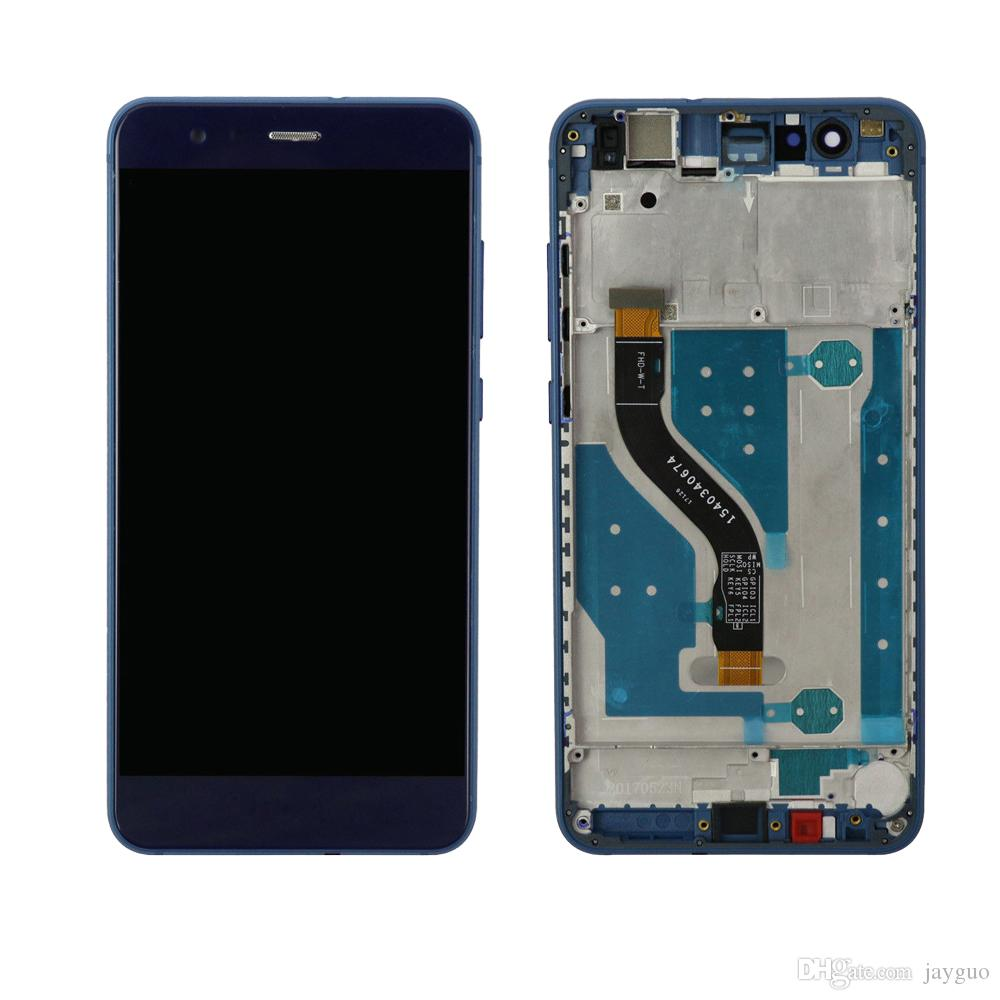For Huawei P10 Lite LCD Display Touch Screen with Frame Digitizer Replacement Assembly LCD Display