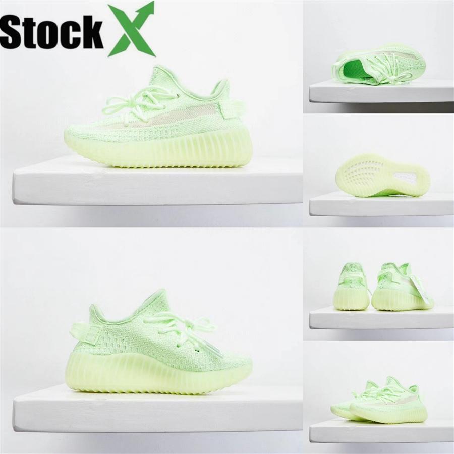 Kanye West bébé Claymax tout-petits enfants Chaussures de course statique Gid De Sport Chaussure Pour Enfant Garçons Filles # 228 Formateurs Casual