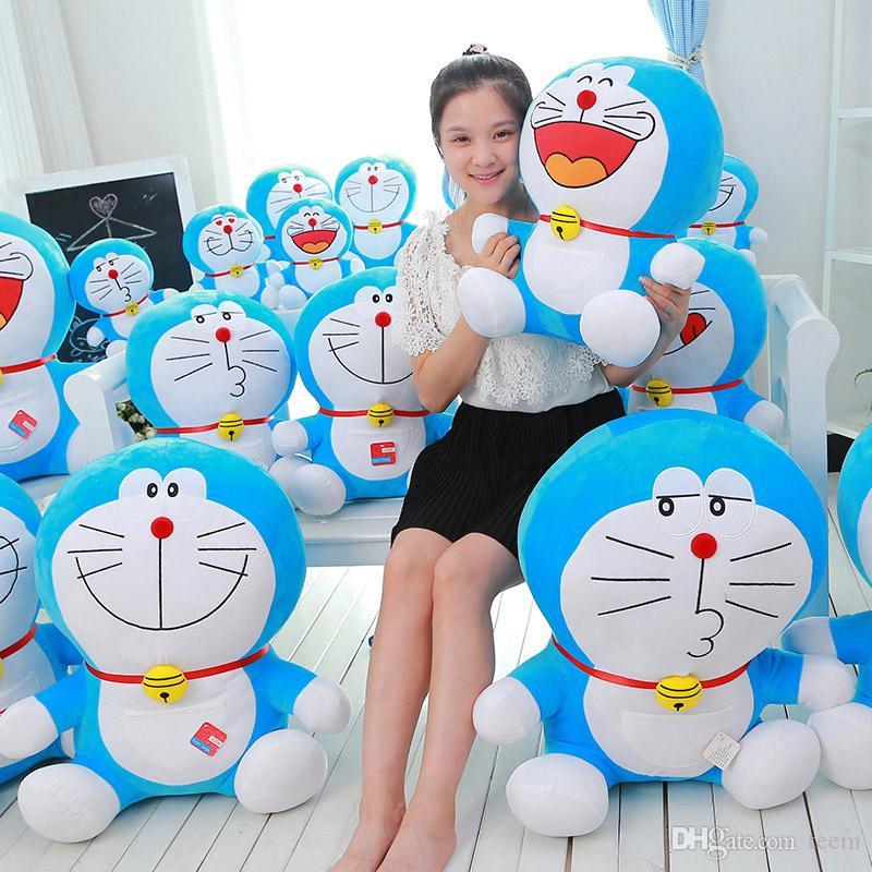 плюшевые игрушки Duo a dream jingle cat Doraemon 35 см мягкая кукла игрушка Тоторо для детей игрушки мультфильм рисунок подушки куклы brinquedos подарок на день рождения