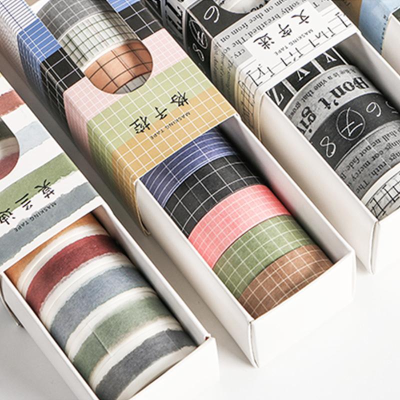 10 PC / paquete Alfabeto número decorativos etiqueta Washi Tape Cinta adhesiva de bricolaje álbum de recortes etiqueta autoadhesiva Masking Tape Craft 2016