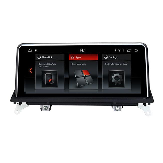 """10.25"""" автомобильный аудио Авторадио GPS навигация для X5 E70 X6 E71 CIC CCC Радио стерео Px6 процессор шесть ядер Android 9 Экран автомобильный dvd"""