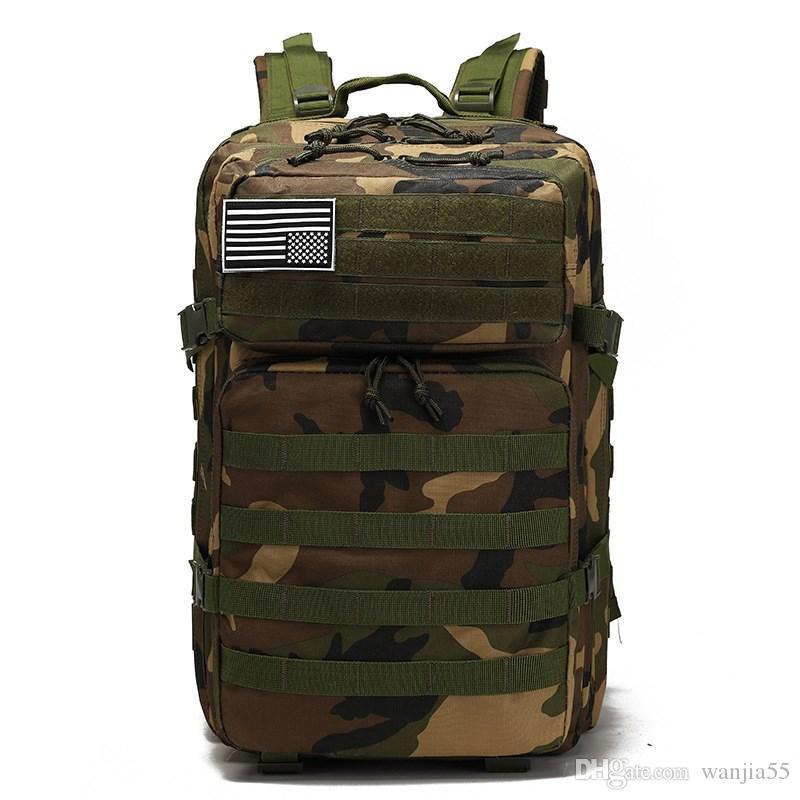 Army Tactical Backpack Molle Militar Softback Outdoor Waterproof Backpack Hiking Rucksack Men Hunting Travel Camping Bag Mochila