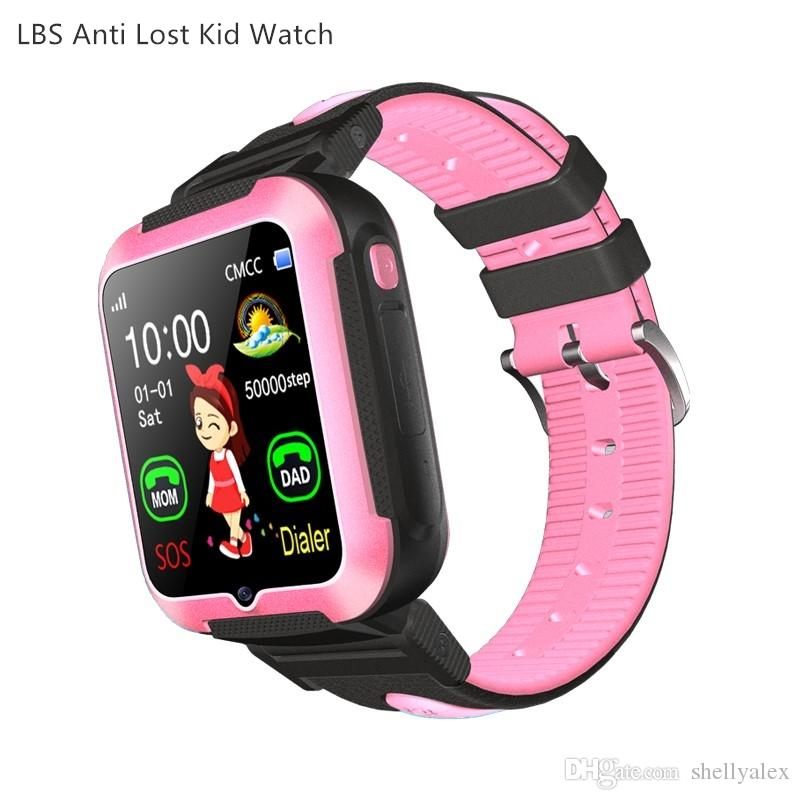 e7 student kids smart watch smart bracelet sports watch IP67 waterproof lbs anti lost tracker sns notification for ios Android mobile phone