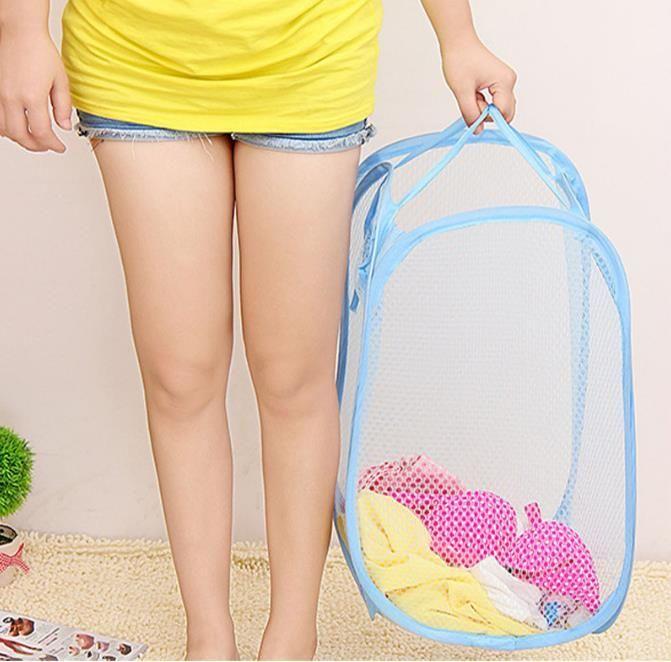 تزود طوي شبكة الغسيل سلة الملابس التخزين يطفو على السطح غسل الملابس سلة الغسيل بن تعوق شبكة التخزين حقيبة SN2958 000