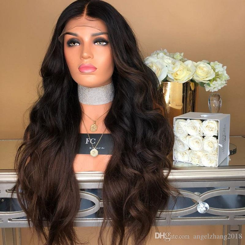 Женский Makings парик крышки Средний Score Длинные вьющиеся черные волосы распущенными Coil Большая волна химического волокна для укладки волос