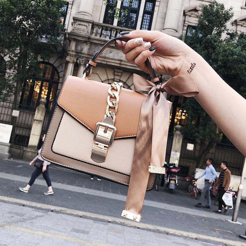 Borsa a tracolla coreana a tracolla Mini borsa a tracolla quadrata piccola Borsa a tracolla per donna con tracolla design Mujer De Color