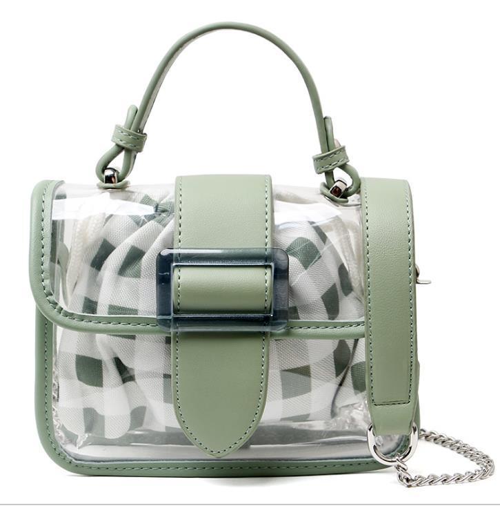 Été Designer Nouvelle arrivée Mini Sacs 2020 Transparent New Jelly Buns mère Sac Mini sac
