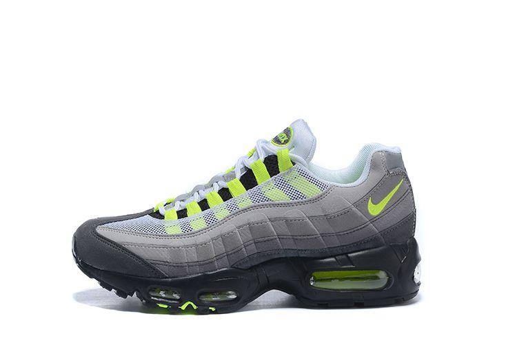 Compre Nike Air Max 95 Airmax Air Men Running Shoes Pull Tab Negro Marrón Blanco Pizarra Azul La Mejor Calidad Clásico TN Sport Zapatillas De Deporte