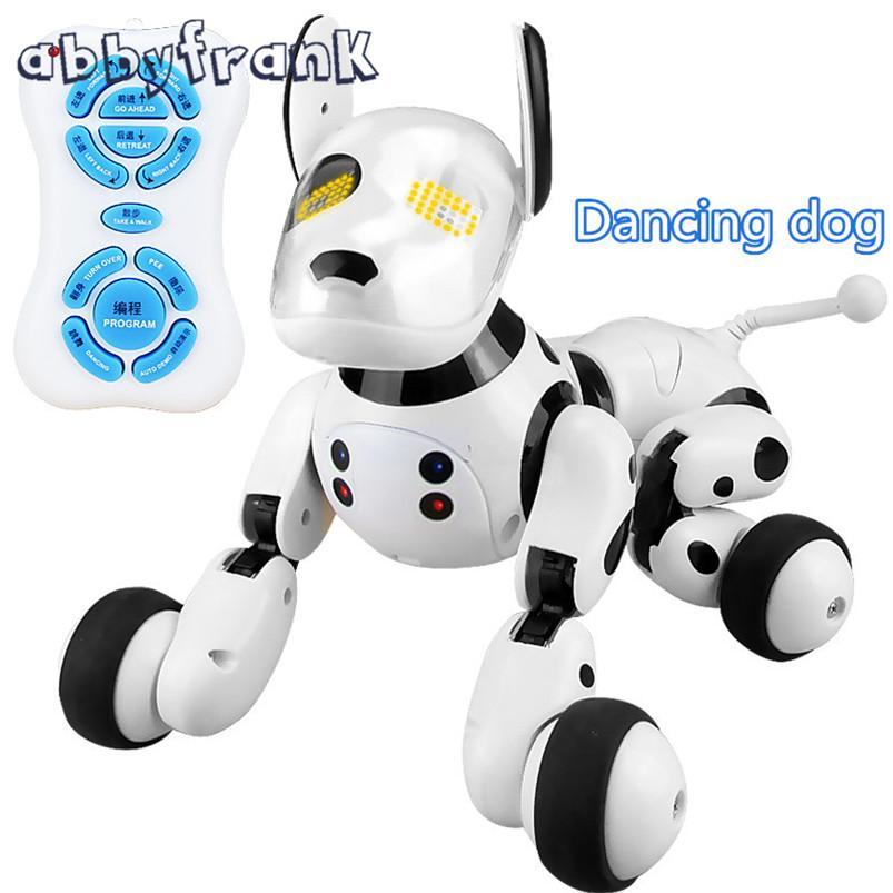 2.4G 무선 원격 제어 스마트 개 전자 애완 동물 교육 어린이 장난감 댄스 로봇 개 생일 선물 하이테크 장난감
