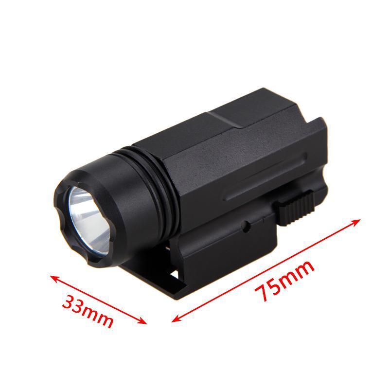 3000lm XPE Q5 Hunting LED avec Weaver Picatinny Montage du pistolet 3 Modes tactique Lampe torche + Batterie + Chargeur