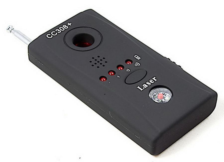 Obiettivo di macchina fotografica 100pcs CC308 + Wireless Detector Onda radio obiettivo Figura-range WiFi RF Singnal Laser Bug GSM dispositivo Finder