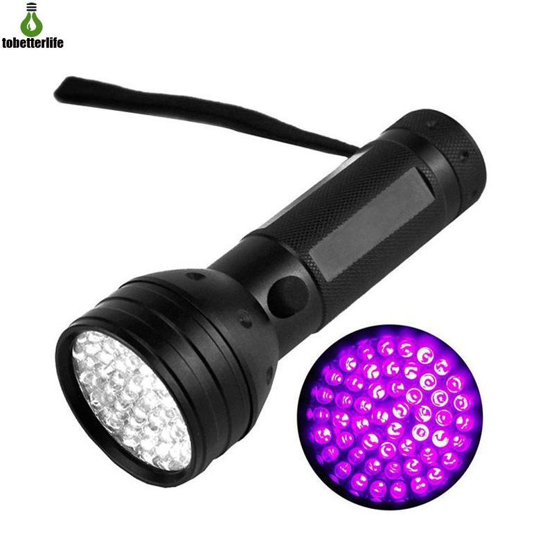 51 UV-LED-Taschenlampe Skorpion-Detektor Hunter Finder ultravioletter Blacklight-Fackel Fackel-Lampe 395nm 5w Anti-Fake-Geld