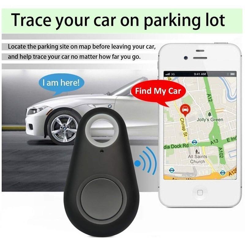 lost-anti inteligente para perros mascotas Tracker GPS Alarma etiqueta de registrador inalámbrico Bluetooth del niño del bolso Monedero de alarma clave del localizador del buscador perdido anti caliente de la venta