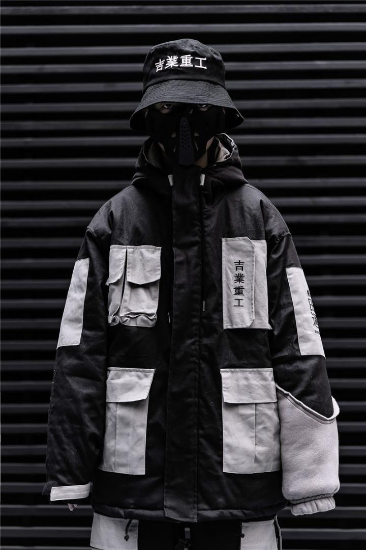 Homens Jacket Carga de Inverno