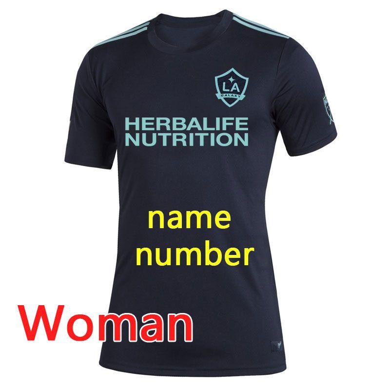 MLS LA Galaxy Фарли Джерси 2019 2020 Фарли LA Galaxy футбол Джерси женщин 19 20 MLS LA Galaxy Ибрагимович Парли Джерси з-4XL