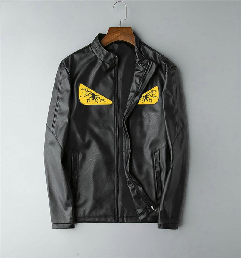 2019 dos homens Jacket New Mens Jacket slim europeu e americano do Simple Men Jacket D19