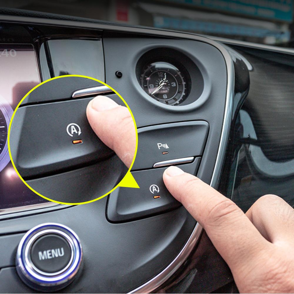 Voiture d'arrêt automatique de démarrage du moteur Arrêt du système dispositif de contrôle du capteur OBD Plug-Accessoires Intérieur pour Buick Envision 2014-2020