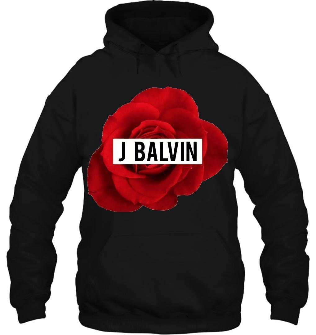 Men Hoodie J Balvin Rose Mi Gente Reggaeton Tee Women Streetwear