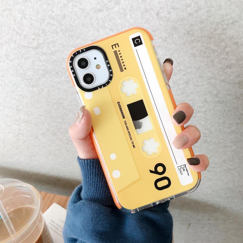 Le plus récent cas de conception de bande magnétique pour iPhone 11 Pro Max Xs XR X 7 8 Plus 6 6S, plus étui de téléphone cellulaire